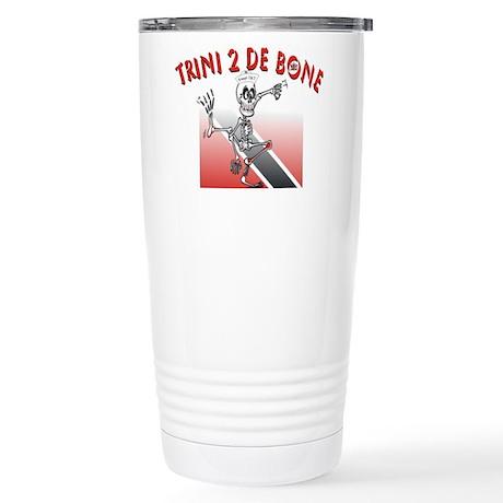 Trini 2 De Bone Stainless Steel Travel Mug