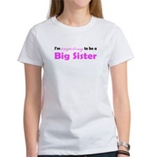 """Expecting"" Big Sister (Undat Tee"