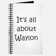 Funny Waylon Journal