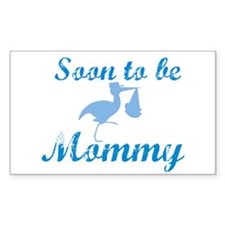 Soon to be Mommy Rectangle Decal
