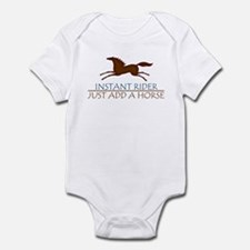 Instant Rider, Just Add A Horse Infant Bodysuit