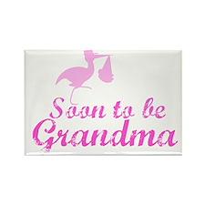 Soon to be Grandma Rectangle Magnet