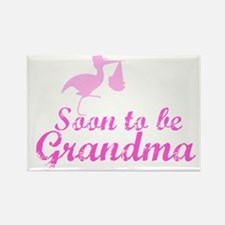 Soon to be Grandma Rectangle Magnet