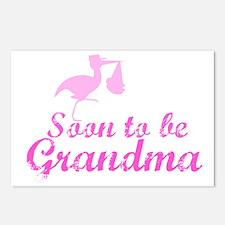 Soon to be Grandma Postcards (Package of 8)
