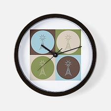 Amateur Radio Pop Art Wall Clock