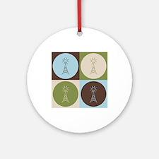 Amateur Radio Pop Art Ornament (Round)