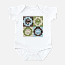 Air Traffic Control Pop Art Infant Bodysuit