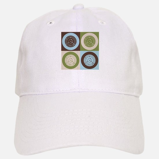 Air Traffic Control Pop Art Baseball Baseball Cap