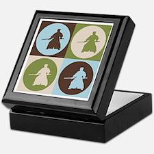 Aikido Pop Art Keepsake Box