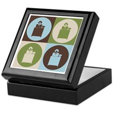 Administrative Assisting Pop Art Keepsake Box