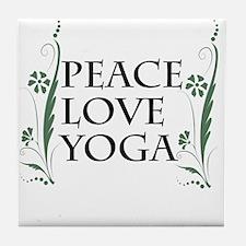 Unique Yogi Tile Coaster