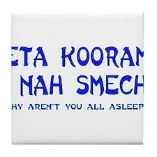 Sleep Tile Coaster