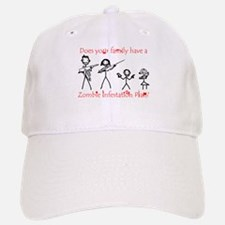 """Family Zombie Plan"" Baseball Baseball Cap"