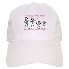 """Family Zombie Plan"" Baseball Cap"