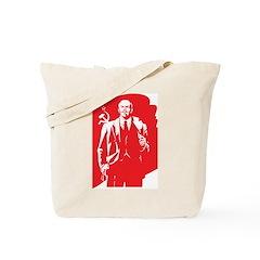 Vintage Lenin Tote Bag
