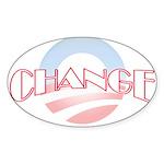 Change Oval Sticker (10 pk)