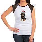 Gordon Setter Christmas Women's Cap Sleeve T-Shirt