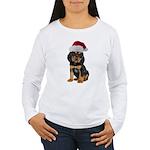 Gordon Setter Christmas Women's Long Sleeve T-Shir