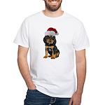 Gordon Setter Christmas White T-Shirt