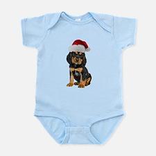 Gordon Setter Christmas Infant Bodysuit