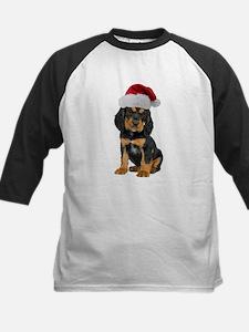 Gordon Setter Christmas Kids Baseball Jersey