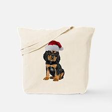 Gordon Setter Christmas Tote Bag