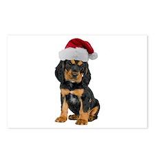 Gordon Setter Christmas Postcards (Package of 8)