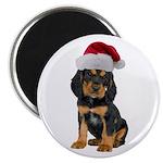 Gordon Setter Christmas Magnet