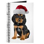 Gordon Setter Christmas Journal