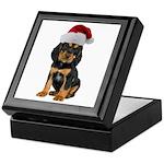 Gordon Setter Christmas Keepsake Box