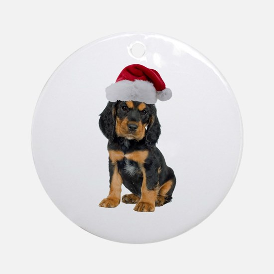 Gordon Setter Christmas Ornament (Round)