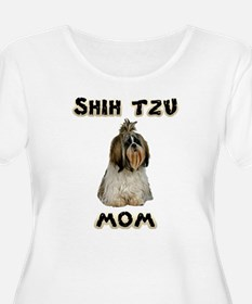 Shih Tzu Mom Plus Size T-Shirt