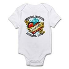 Tourette's Tattoo Heart Infant Bodysuit