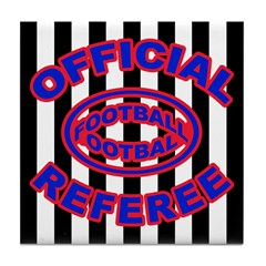 OFFICIAL REFEREE-FOOTBALL Tile Coaster