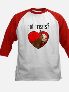 Got Treats? Cute Horse Kids Baseball Jersey
