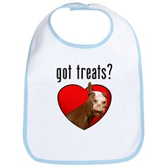 Got Treats? Cute Horse Bib