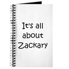 Funny Zackary Journal