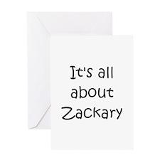 Funny Zackary Greeting Card