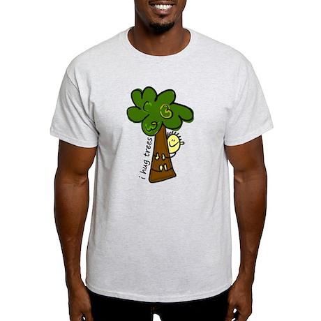 I Hug Trees Light T-Shirt