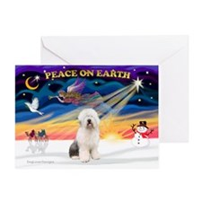 XmasSunrise/OES #3 Greeting Card