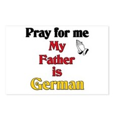 Pray for me my father is German Postcards (Package