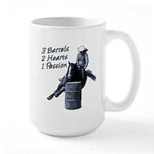 3 Barrels 2 hearts 1 passion. Mug