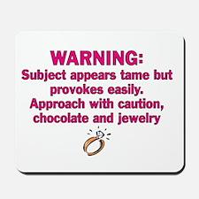 Chocolate & Jewelry Mousepad