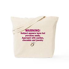 Chocolate & Jewelry Tote Bag