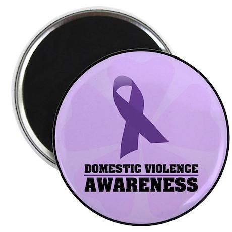 """DV Awareness 2.25"""" Magnet (100 pack)"""