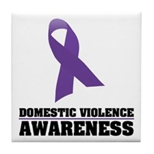 DV Awareness Tile Coaster