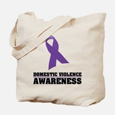 DV Awareness Tote Bag