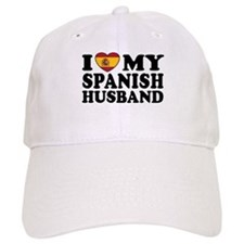 I Love My Spanish Husband Baseball Cap
