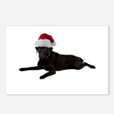 Black Lab Christmas Postcards (Package of 8)