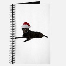 Black Lab Christmas Journal